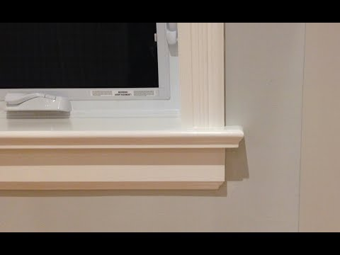 how-to-make-window-sills-&-apron-|-woodworking