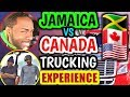 Overseas Trucking vs Canadian Truck Driving Experience. vlog #30