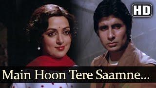 Main Hoon Tere Saamne - Nastik Song - Amitabh Bachchan - Hema Malini - Anand Bakshi Hits