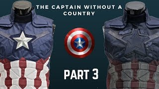 The Captain Without a Country: Part 3- Weathering the Bodysuit!