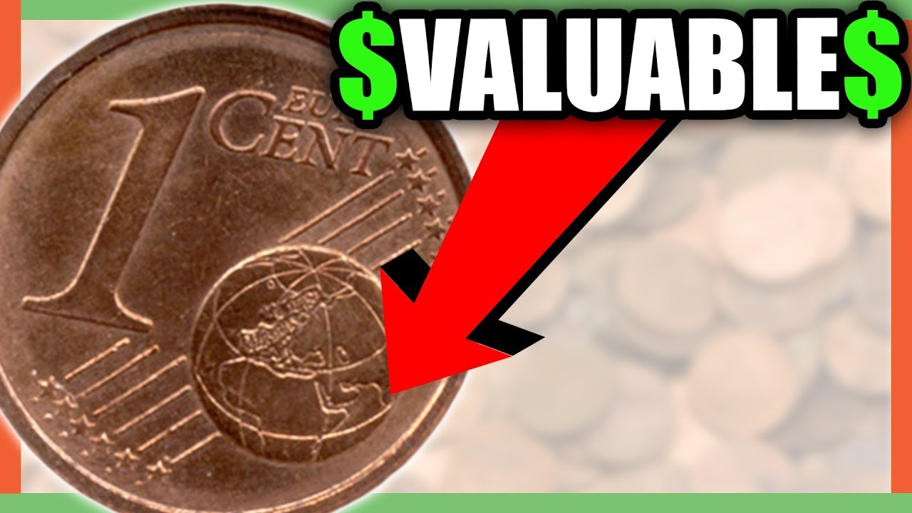 Rare Euro Coins Worth Money Valuable