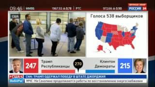 В Брюсселе шокированы результатами выборов в США