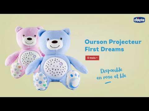Peluche Projecteur Baby Bear First Dreams