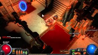 Path of Exile | Dark Shrine HC | League Ending In 4 Minutes