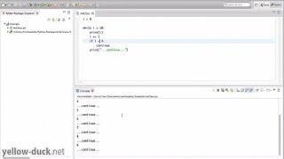 Циклы в Python. While, for in. Операторы continue, break. Range().