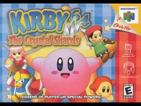 Kirby 64 The Crystal Shards Shiver Star Map Theme YouTube