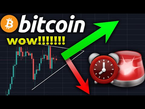 BE READY!!!!!! A BITCOIN BREAKOUT IS COMING TODAY!!!!!!!!!!!!!