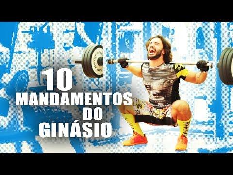 Os 10 Mandamentos do Ginásio / The 10 Gym Commandments Parody - Dicas do Salgueiro