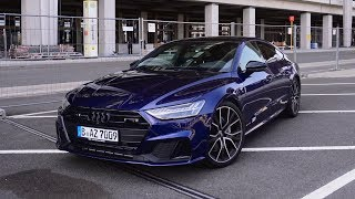 Mit dem 2019 Audi A7 am BER-Flughafen!