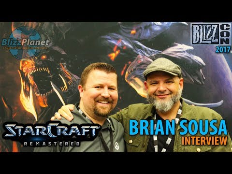 Blizzcon 2017 StarCraft: Remastered Interview with Brian Sousa