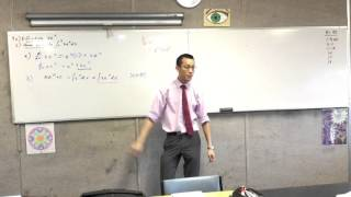 Differentiation and Integration of Exponential Functions (Example that combines both)