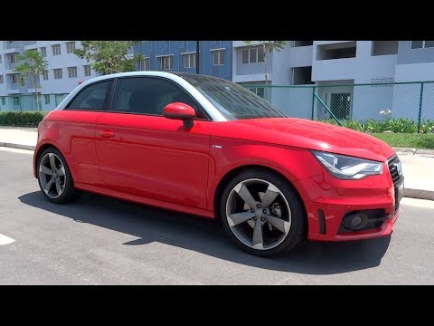 2012 Audi A1 1.4 TFSI Start-Up and Full Vehicle Tour