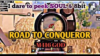 SOUL & 8bit VS Me | ROAD TO CONQUEROR | Wade