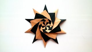 Origami Star (Francesco Mancini). Tutorial.