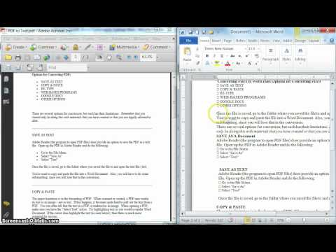 Understanding the Differences between PDFs & Word Documents