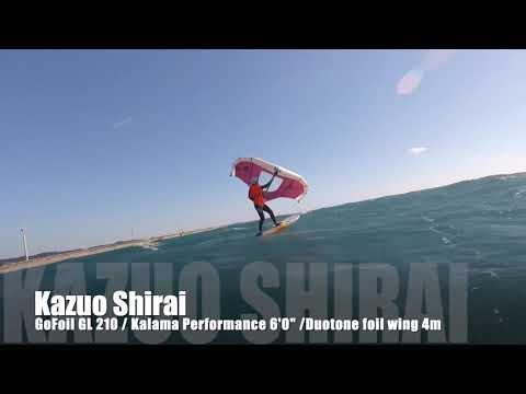 DownWind Foiling Session In Omaezaki! Sup Foil & Foil Wing!
