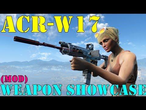 Fallout 4: Weapon Showcase: ACR-W17 (Mod)