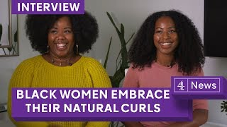 Black British women and the natural hair movement