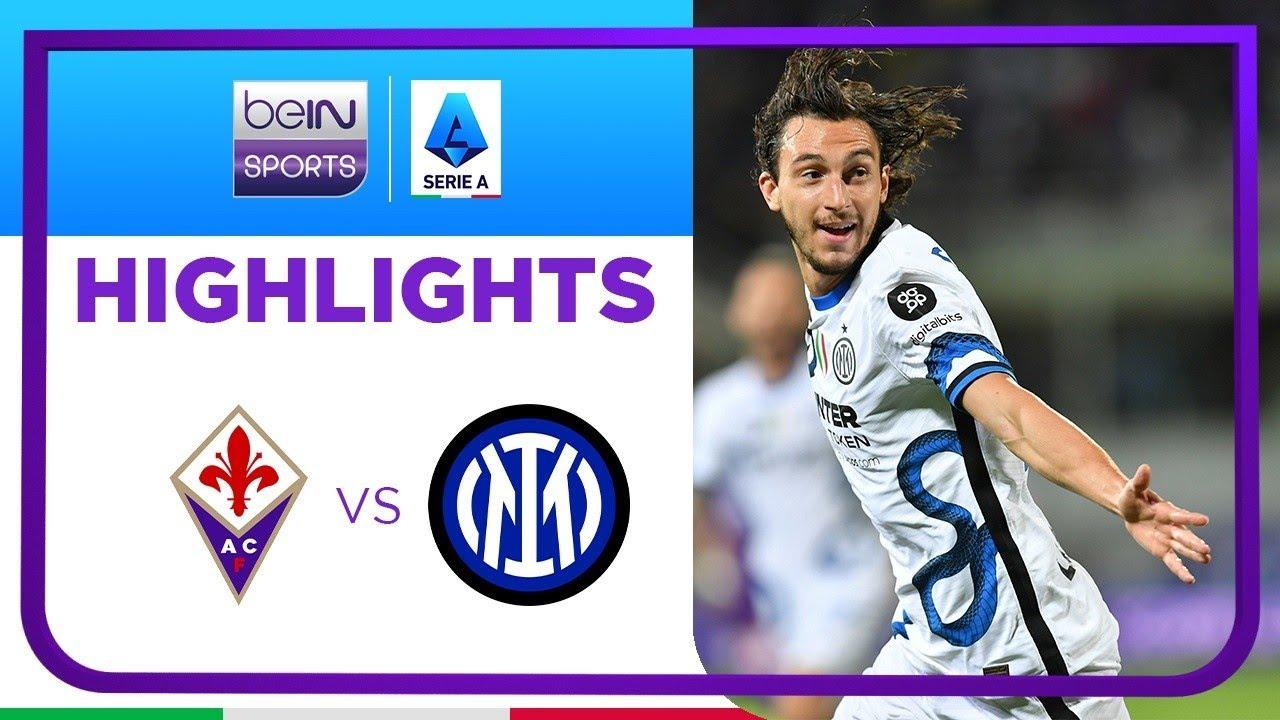 ฟิออเรนติน่า 1-3 อินเตอร์ มิลาน | เซเรีย อา ไฮไลต์ Serie A 21/22
