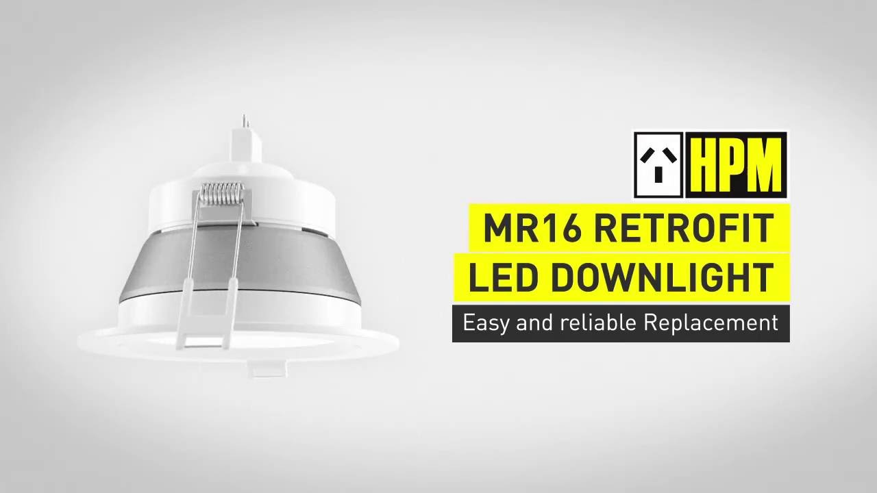 Hpm Mr 16 Led Downlight You