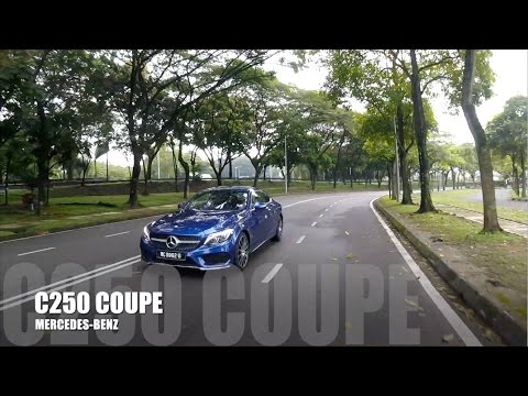 2017 Mercedes Benz C250 Coupe AMG Line Full In Depth Malaysia Review - Bobby Ang