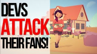 Indie Developer Calls Fans Entitled And Toxic After Joining Epic Games Store!