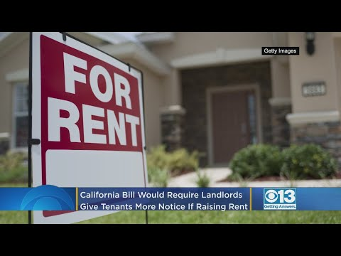 More Notice May Be Required If Landlords Want To Raise Rent – Local News Alerts