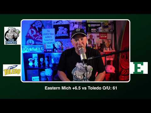 Eastern Michigan vs Toledo 11/18/20 Free College Football Picks and Predictions CFB Tips