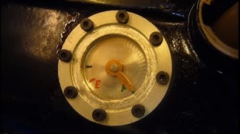 Homemade fuel gauge