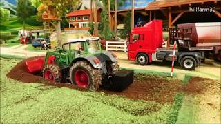 Rc Tractor Action - CONSTRUCTION WORK ON THE FARM - Rc Toy Fun