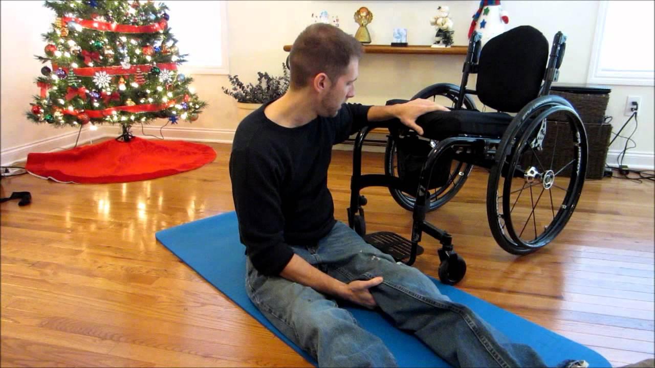 Paraplegic Floor Transfer Youtube