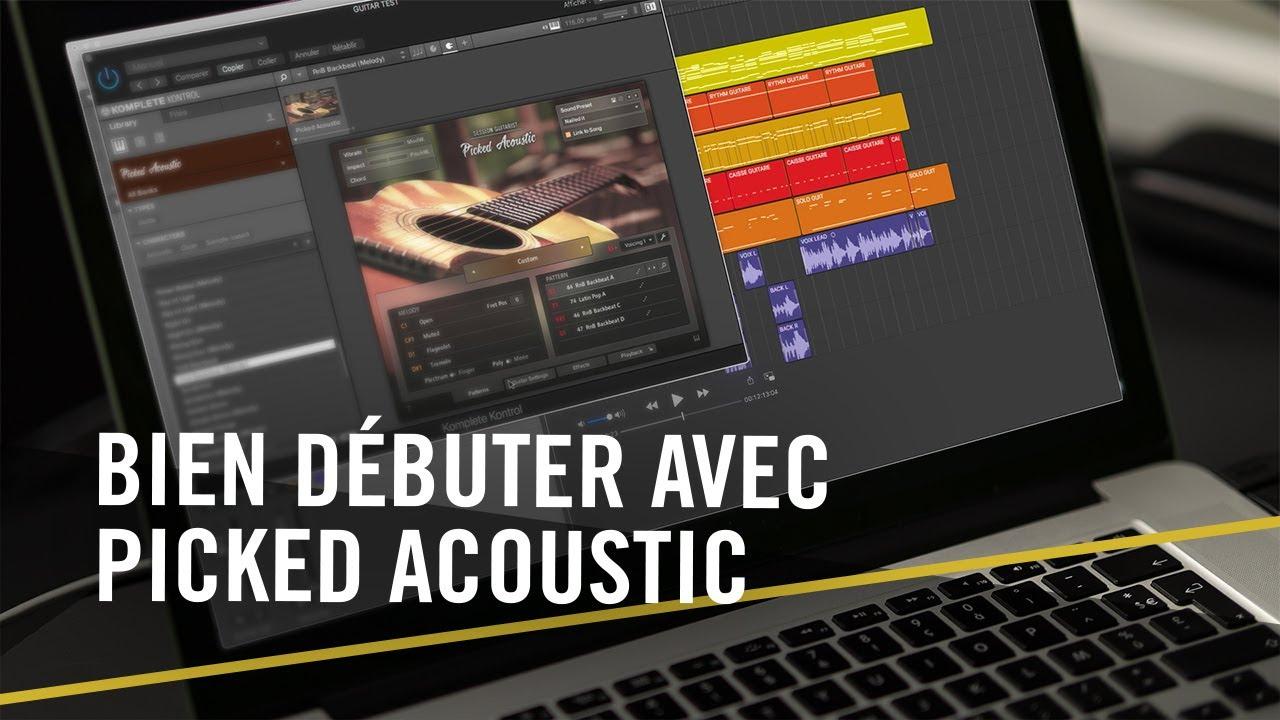 Download Bien débuter avec la guitare hybride PICKED ACOUSTIC | Tutoriel Native Instruments
