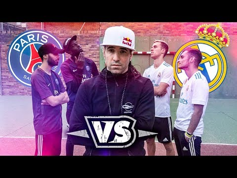 CAN PSG BEAT REAL MADRID ?  Freestyle battle feat. DELANTERO / S3 FREESTYLE  !
