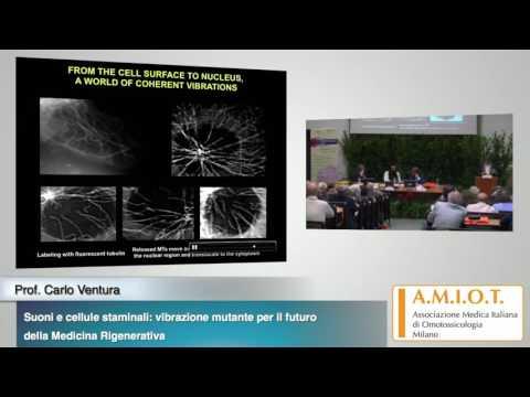 Prof. Carlo Ventura - Suoni e cellule staminali: vibrazione mutante per il futuro della Medicina ...
