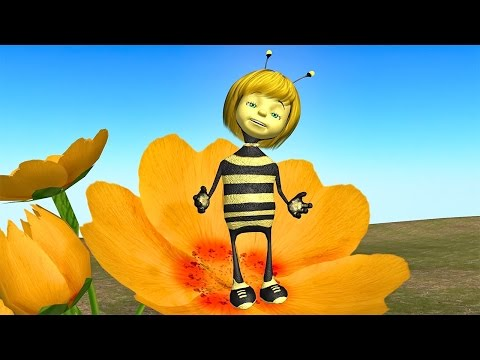 Funny Happy Birthday Song 🌷 Bee singing Happy Birthday to You