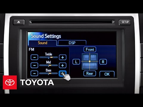 2012 Camry How-To: Adjust Sound Qualities | Toyota