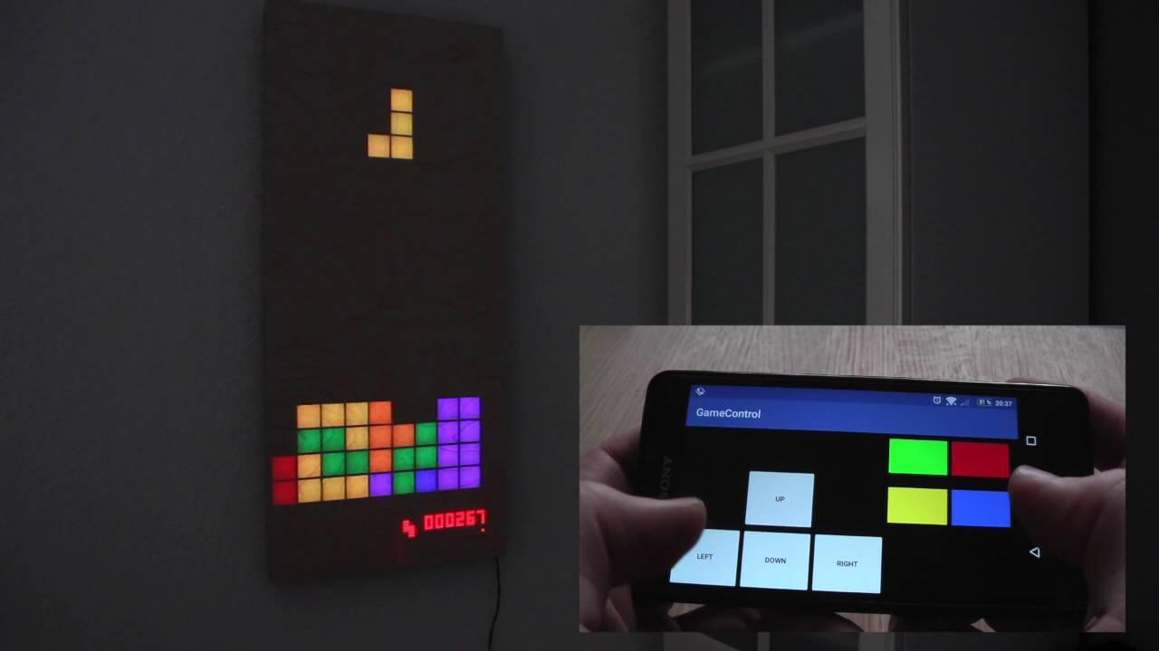 Raspberry Pi Retro Gaming LED Display   Hackaday io