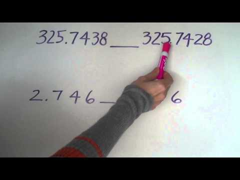 (4.NBT.A.1) Comparing Decimals and Place Value