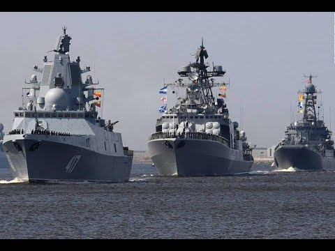 Russia Navy Day Parade St. Petersburg 2018