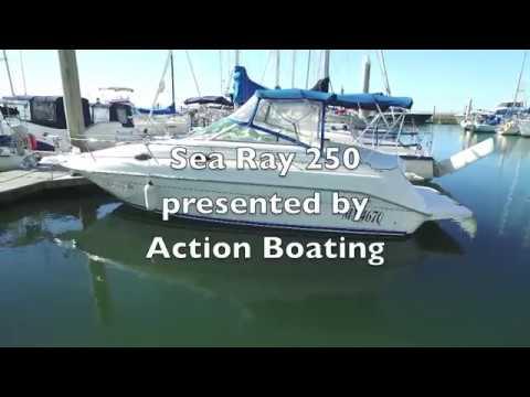 Sea Ray 250 Sundancer for sale Action Boating, boat sales, Gold Coast, Queensland, Australia