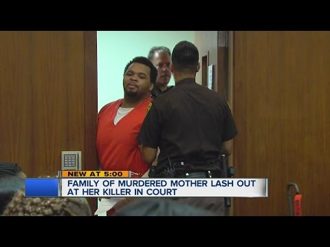 Courtroom outburst at sentencing