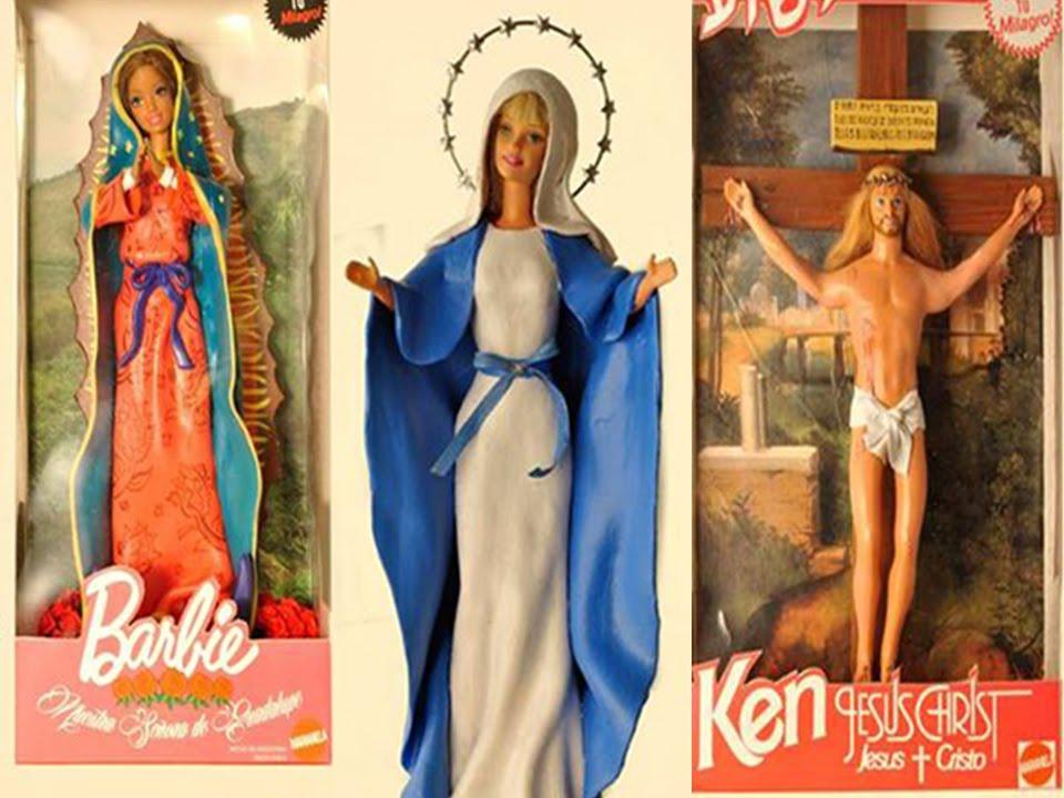Barbie Virgen Y Ken Jesucristo Escandalo Religioso Youtube