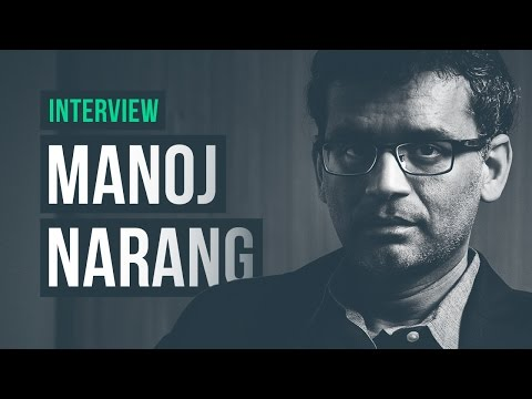 High-speed trading, alternative data, originality · Manoj Narang