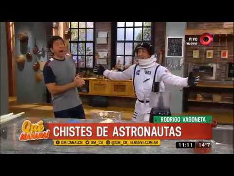 El humor de Rodrigo Vagoneta: chistes de astronautas