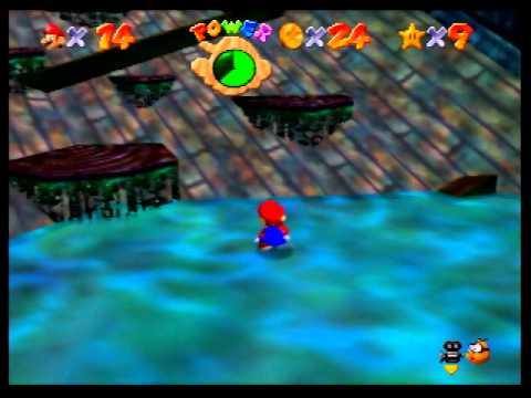 Super Mario 64 - Water Level (3 Stars)(2)