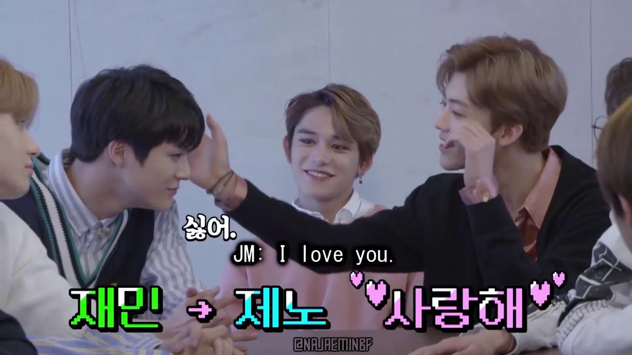 NCT Jaemin saying