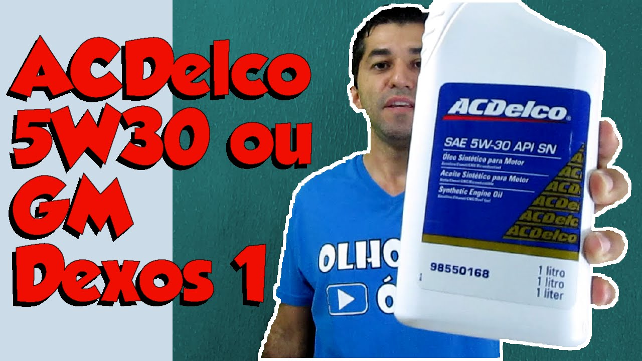 acdelco 5w30 sn ou gm dexos 1 youtube. Black Bedroom Furniture Sets. Home Design Ideas