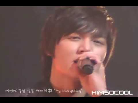 090906 Lee Min Ho singing My Everything @ BOF Japan fanmeeting Fan