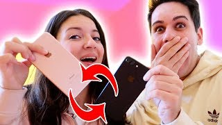 CI SCAMBIAMO I TELEFONI! *Addio iPhone X*