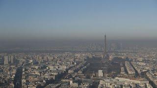 موجة تلوث كبيرة تشهدها العاصمة الفرنسية باريس